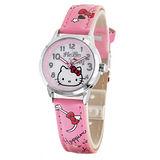 Hello Kitty 甜蜜情懷俏麗腕錶-粉紅