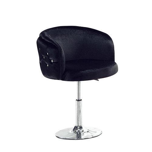 Bernice - 休斯頓水鑽吧椅(黑色)