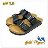(G.P) 休閒個性柏肯鞋(40-44尺碼)-M341-10 黑色三色