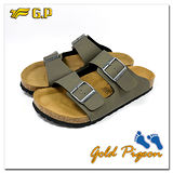 (G.P) 休閒個性柏肯鞋(40-44尺碼)-M341-60 綠色三色