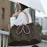 【PS Mall】 外出旅行購物必備可折多功能防雨包外包 (J1703)