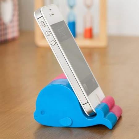 【PS Mall】鯨魚手機可愛手機座iphone平板支撐架_2入 (J2342)