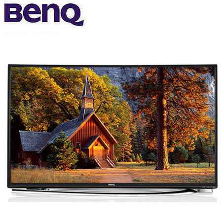 BenQ 55吋FHD曲面超絢彩黑湛屏液晶顯示器+視訊盒(55RU6600)送HDMI線+潮牌耳機+16G隨身碟+數位天線+優派網路電視盒 回函送好禮二選一