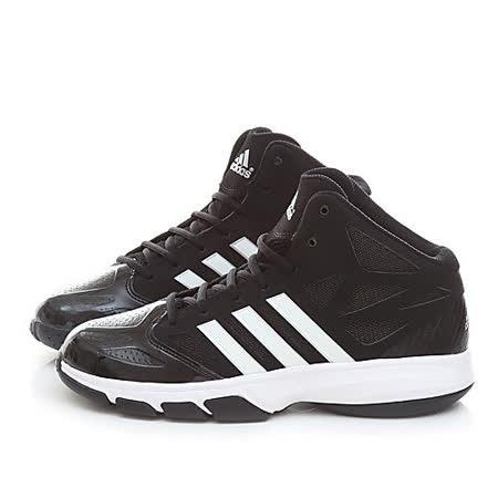 Adidas 男款 Cross 'Em2 時尚款籃球運動鞋GA98232-黑白