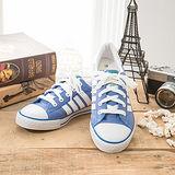 中國強 MIT 百搭休閒帆布鞋CH81(藍)男鞋
