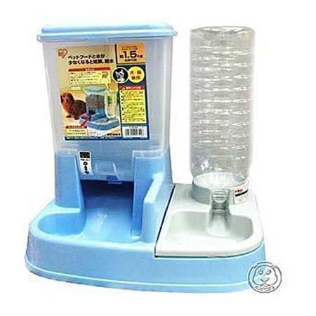 【IRIS】自動餵食飲水器JQ-350(大大節省餵食時間)