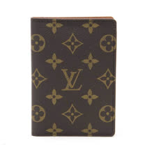 Louis Vuitton LV M60181 Monogram帆布護照夾_預購