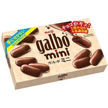 明治galbo迷你巧克力72g