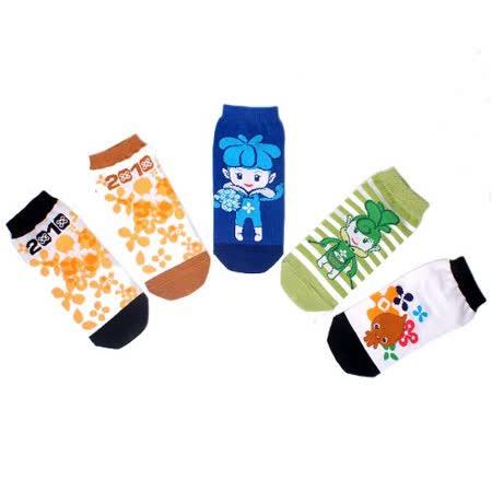 大童-花精靈精品棉襪(5雙/組)