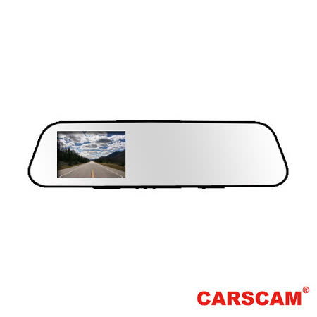 CARSCAM 行車王行車紀錄器 架子RS033 WDR超薄後視鏡行車紀錄器