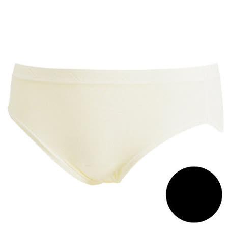 【華歌爾】新伴蒂系列 M-LL中高腰舒適小褲(墨黑色)