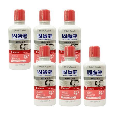 【台塑生醫】淨味清新牙周護理口腔潔菌液(一般成人適用)500g*6入