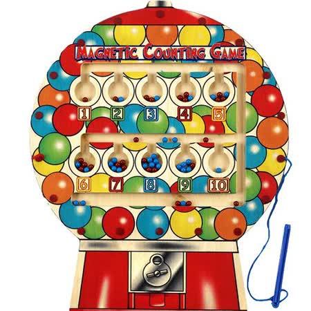 美國 Anatex 大型糖果機磁力棒組 Gumball Counting game