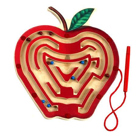美國 Anatex 蘋果迴旋磁力棒組 Magnetic Apple Maze