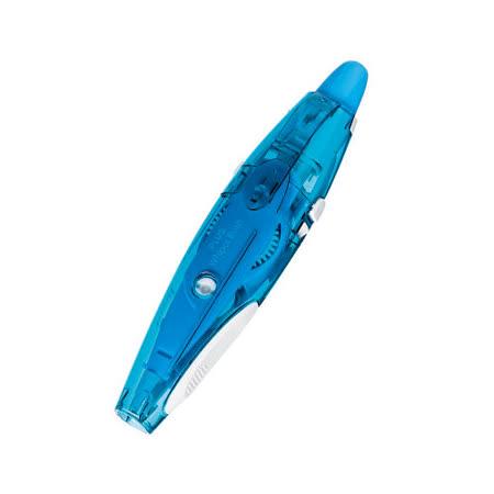 【普樂士 PLUS】WH-065 新按鍵小精靈修正帶 (藍)