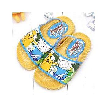 童鞋城堡 探險活寶老皮阿寶後帶拖鞋台灣製AT0364 黃