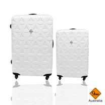 Gate9花花系列ABS霧面行李箱28+20吋兩件組