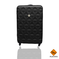 Gate9花花系列ABS霧面行李箱20吋