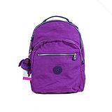 【Kipling】比利時品牌 15吋電腦後背包 奢華紫K-374-5015-644