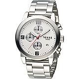 VOGUE 潮流戰警計時腕錶 2V1407-251S-S