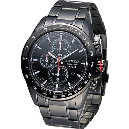 精工 SEIKO Criteria 極速快感計時腕錶 7T92-0SC0SD SNDG27P1
