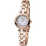 SEIKO vivace 甜美時光 太陽能時尚腕錶 V117-0CT0G SWFA154J
