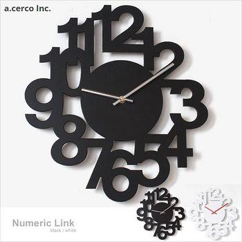 E&J a.cerco NUMERIC LINK數字掛鐘 1個
