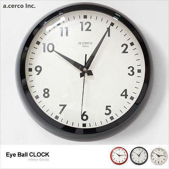 E&J a.cerco 大玻璃凸面經典掛鐘 1個