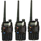 TCO VU-180 PLUS加強版VHF/UHF雙頻無線電對講機 (3入組)