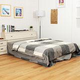 【LOHA】享家時代5尺雙人床組-兩件式(共二色)