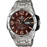 CASIO EDIFICE 極速魅力時尚腕錶(咖啡/45mm) EFR-104D-5A