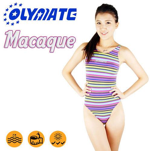 OLYMATE Macaque 競技版女性泳裝