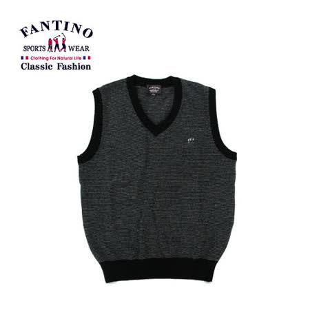 【FANTINO】男款 秋冬必備單品.保暖羊毛背心 147361