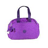 【Kipling】BASIC系列 後插式肩背兩用旅行袋 奢華紫 K-374-5374-644