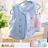 魔法Baby~背心外套 百貨專櫃正品嬰幼兒鋪棉厚外套~k36800