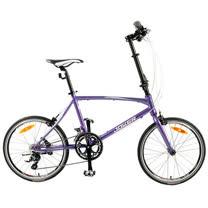 【JOKER】20吋18速鋁折疊休閒車-珍珠紫藍(J-K1G)/90%組裝