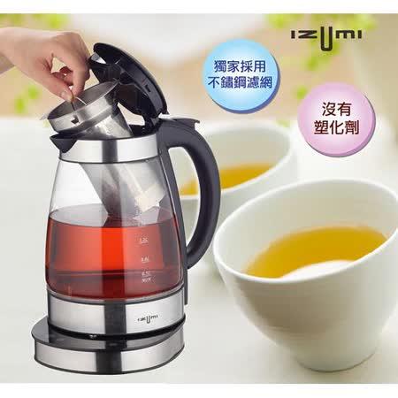 日本IZUMI-1.7L智慧溫控健康電茶壺(TTM-100)