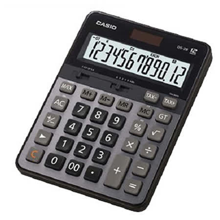【CASIO 卡西歐】DS-2B 12位稅率 桌上型計算機