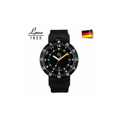 德國LACO 朗坤特種部隊潛水軍錶 男士瑞士機械機芯表861632
