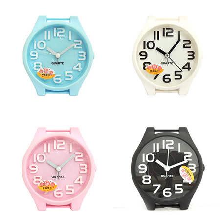 糖果色手錶造型立體數字鬧鐘 SV-1314