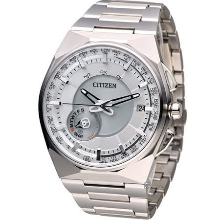 星辰 CITIZEN GENT'S 科技工藝先驅衛星對時旗艦腕錶 CC2001-57A