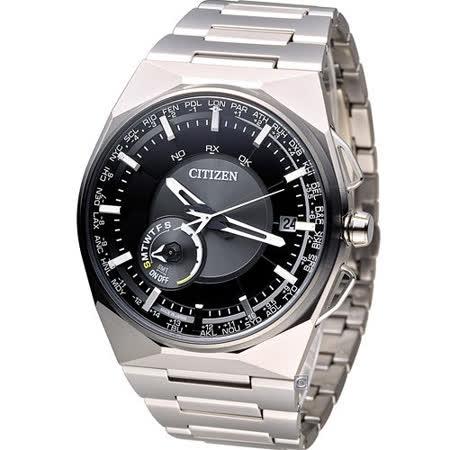 星辰 CITIZEN GENT'S 科技工藝先驅衛星對時旗艦腕錶 CC2006-53E