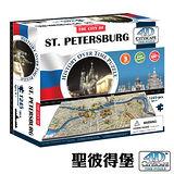 4D 立體城市拼圖 -聖彼得堡 1245 片 +