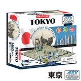 4D 立體城市拼圖 - 東京 1400片 +
