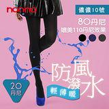 NON-NO輕薄暖 防風雨褲襪 (150~180cm/155~185cm) 三色任選