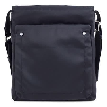 SINA COVA 老船長直立休閒側背包-舒適黑(EB125404)