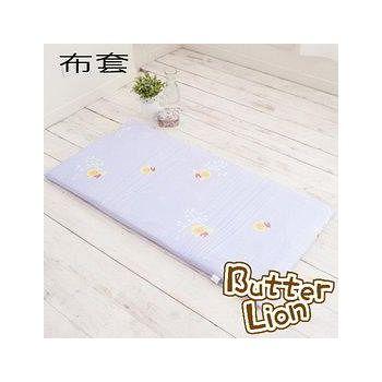奶油獅 純棉床墊專用布套5CM 幻紫