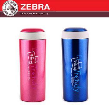 斑馬 ZEBRA 不鏽鋼真空可愛保溫瓶 350ml