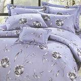 【法式寢飾花季】典雅風情-雙人純棉七件式床罩組(幽幽花香#3092)
