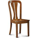 【椅吧】 簡約鄉村風實木餐椅